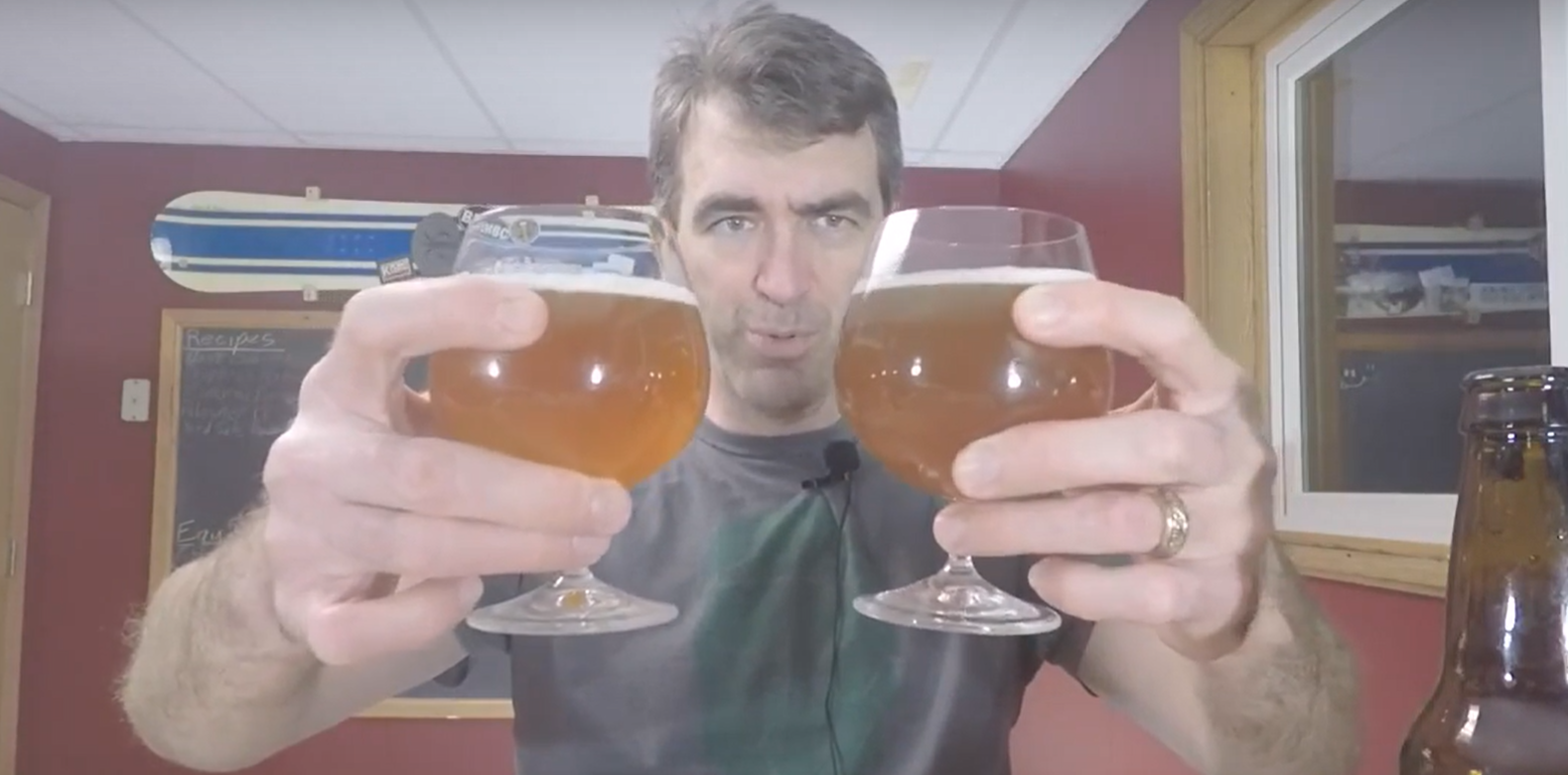 Two beers from one batch